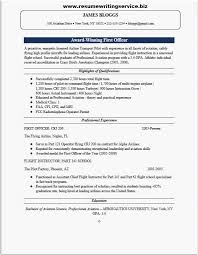 aviation resume template airline pilot resume most desirable first ficer resume