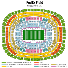Redskins Seating Chart View Diagram Of Fedex Field Wiring Diagrams