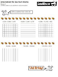 Addition, subtraktion, multiplikation und division von brüchen (beinhaltet erweitern, kürzen und umwandeln). Ubungen Mathe Klasse 3 Kostenlos Zum Download Lernwolf De