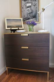 Ikea Hack Nightstand The Nightstand Is A Mini Ikea Hack Of The Trysil Dresser The Trim