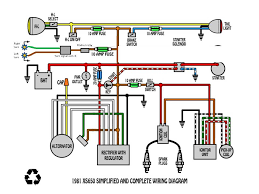 some wiring diagrams page 21 yamaha xs650 forum