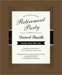 Invitation For Party Template Magnificent Invitation Template Retirement Party Invitation Template Free
