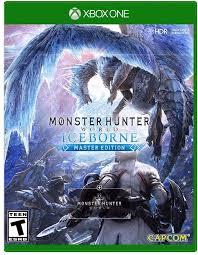 Amazon.com: Monster Hunter World: Iceborne Master Edition - Xbox One  Standard Edition: Capcom U S A Inc: Video Games