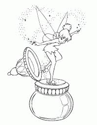Barrie, he was brilliant and animated incarnation has since become a widely recognized unofficial mascot of the walt disney company. Free Tinkerbell Coloring Pages Coloring Home