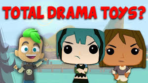 Total drama action toys