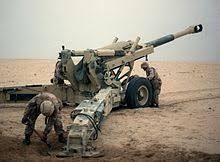 battle of khafji  supporting artillery from the 10th marine regiment