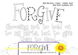 Forgiveness Coloring Pages Coloring Forgiveness Coloring Page Asking