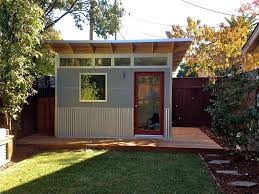 backyard home office. Diy Backyard Office Modern Shed Cost Studio Plans Building A Detached Home
