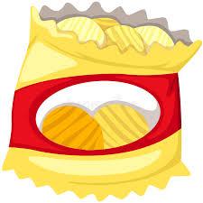 bag of potato chips clipart. Unique Clipart Bag Of Potato Chips Stock Vector Inside Of Potato Chips Clipart W