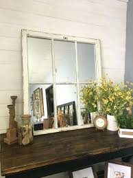 mirror window pane white mirror large mirror window mirror window pane mirror wall mirror easy diy mirror window pane