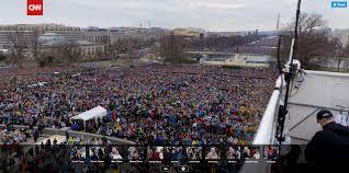 trump inauguration crowd size fox proof real inauguration crowd size vs fake news footage of