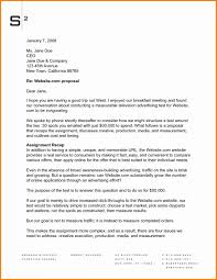 Advertising Proposal Template New Advertising Proposal Letter Sample