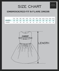12 13y Size Chart Fit Flare Dress Size Chart Jpg A T U N