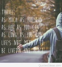 Inspirational Travel Quotes Cool Inspirational Travel Quote With Wallpaper