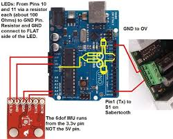 arduino self balance controller using digital imu at last  step 5 wiring diagram for this imu