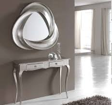 mirror and table for foyer. Contemporary Silver Modern Console Tables With Small Drawers Under Sensational Wall Mirror Gif And Table For Foyer