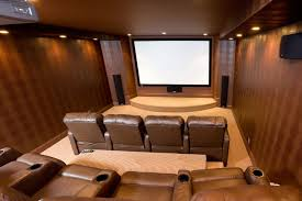 simple basement home theater. basement - home theater contemporary-home-theater simple t