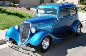 1934 Ford Vicky 2 Door Sedan Street Rod Classic Cars Trucks Hot Rods Ford Classic Cars Classic Cars Trucks