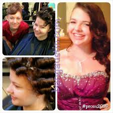 prom hair makeup high leander salon austin bang