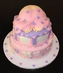 10 Girl Baby Shower Cake Cupcakes Photo Pink Baby Shower Cake