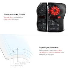 Phantom Smoke LED Tail Lights - Vipmotoz