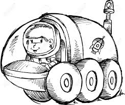 Moon vehicle clipart