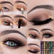 blue eyes eye makeup autumnwinter 2016 2 natural smokey eyes with lipstick for middot eye makeup tutorials