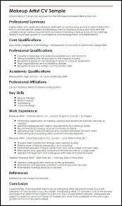 resume professionnel en resume makeup artist sle resume templates free word