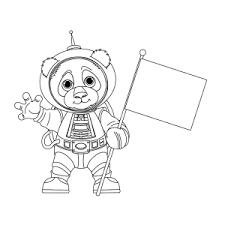 Pandabeer Kleurplaten Leuk Voor Kids