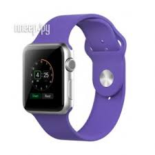 <b>Аксессуар Ремешок</b> APPLE Watch 42mm <b>Activ</b> Light Purple <b>Sport</b> ...
