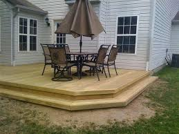 wood patio with pool. Wood Deck Designs Patio Best Ideas On Decks Wooden With Pool H