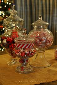 Apothecary Jars Christmas Decorations 100 Simple DIY Holiday Centerpieces Kristen Hewitt 37