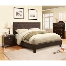 Furniture of America Perdella Contemporary Grey Low Profile 3-piece Bedroom Set