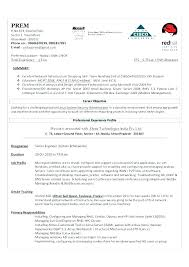 Sample Resume For System Administrator Best of Sample Resume For Windows Server Administrator Fresher Systems