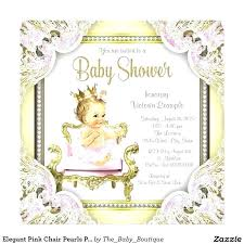 shower invitation templates pink baby shower invitation templates and gold princess