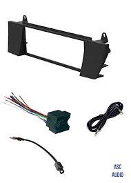 amazon com asc car stereo install dash kit wire harness and asc car stereo install dash kit wire harness and antenna adapter combo to install