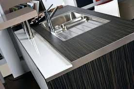 aluminum and wood materials for modern kitchen countertop material types