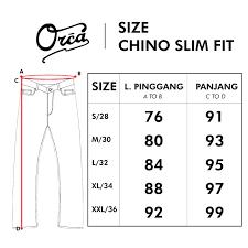 Slim Fit Chino Khaki