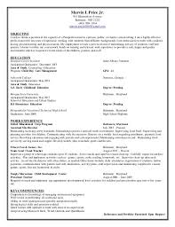 Paraprofessional Resume No Experience