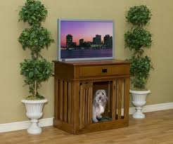 fancy dog crates furniture. Furniture: Stylish Dog Bed And Crate Built Into A Small Table Fancy Crates Furniture