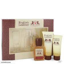 dana english leather gift set cologne spash after shave balm 2 oz trade me