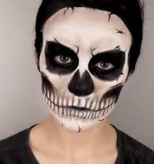 skeleton makeup tutorial step by step mugeek vidalondon