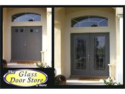 traditional and classic front entry glass doors door with regard to insert ideas 9