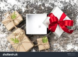 Blank Boxes To Decorate Open Blank White Gift Red Ribbon Stock Photo 100 Shutterstock 100