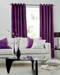Purple Living Room Curtains Purple And Grey Living Room Curtains