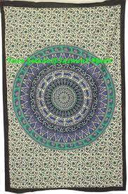 twin indian tapestry wall tapestry bohemian mandala tapes