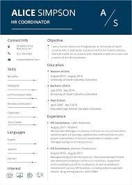 Free Modern Resume To Download Resume Word Template Free Mazard Info
