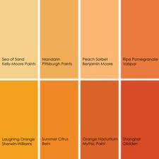 Shades of orange paint Burnt Orange Orange Can Quickly Turn Pastel If You Opt For Lighter Shade To Get Pinterest 138 Best Orange Paint Colors Images Paint Colors Colores Paredes