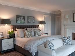 glass lamp gray walls gray bedroom walls gray headboard gray