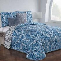 Quilts | Quilt Sets | Bedspreads | Christmas Tree Shops andThat! & Domen Reversible Quilt Set, 5-Piece Adamdwight.com